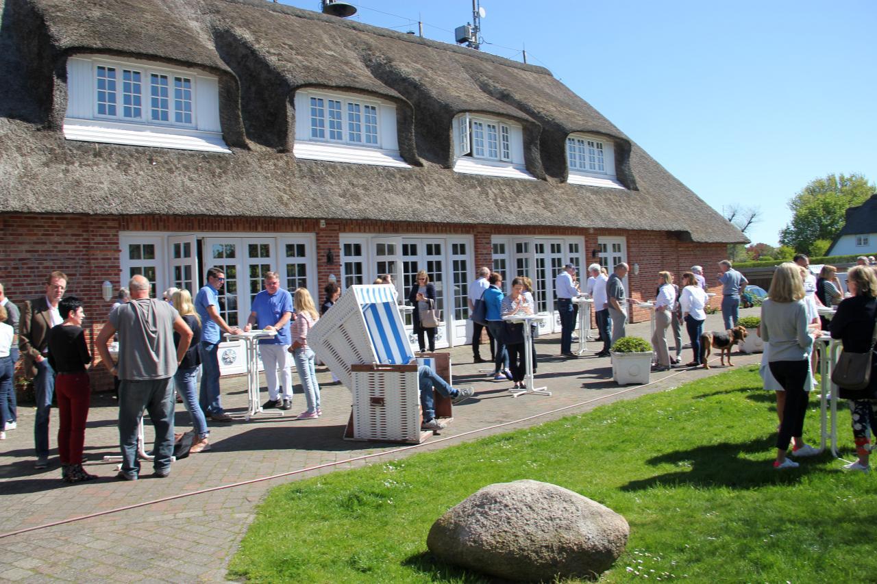Veranstaltungsort: Kaamp-Hüs in Kampen auf Sylt